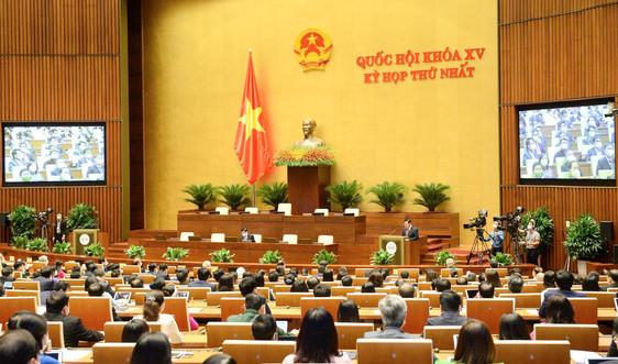 Quốc hội thảo luận ở hội trường về kế hoạch đầu tư công trung hạn giai đoạn 2021-2025