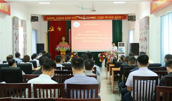 Sơn La: 40 bác sĩ, nhân viên y tế hỗ trợ TP Hồ Chí Minh chống dịch Covid-19