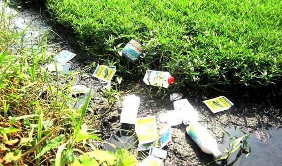 Thải bỏ bao bì thuốc bảo vệ thực vật không đúng quy định, gây ô nhiễm môi trường bị phạt bao nhiêu?