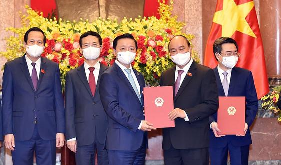 Tiến sỹ Trần Hồng Hà tái đắc cử Bộ trưởng Bộ Tài nguyên và Môi trường