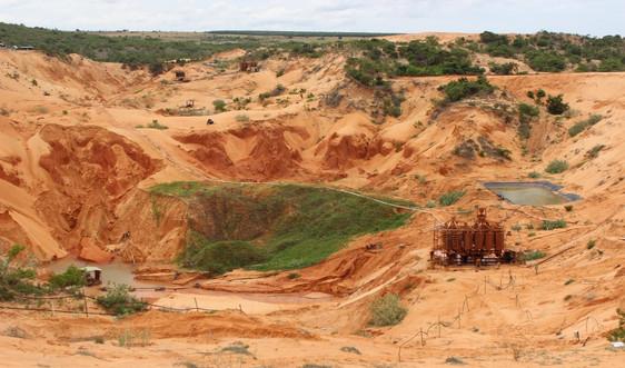 Cấp giấy phép thăm dò quặng titan sa khoáng tại tỉnh Quảng Trị