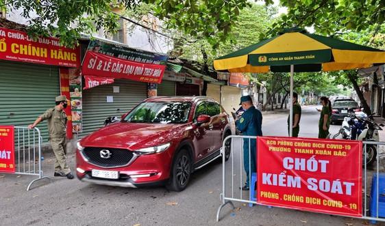 Thanh Xuân - Hà Nội: Xử lý nghiêm các vi phạm phòng chống dịch covid-19