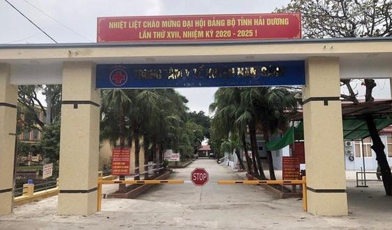 Hải Dương: Phong tỏa Trung tâm Y tế huyện Nam Sách