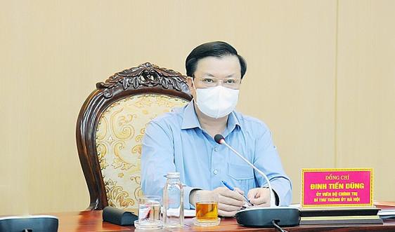 Hà Nội sẽ đề nghị cơ quan Trung ương trên địa bàn thực hiện đúng quy định giãn cách