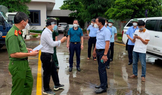 Hải Dương: Ghi nhận thêm 3 ca dương tính với SARS-CoV-2 ở huyện Nam Sách