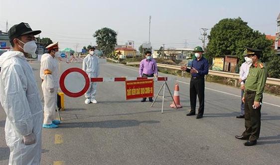 Hải Dương: Thêm 1 ca dương tính SARS-CoV-2 tại huyện Kim Thành
