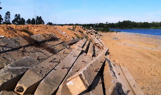 Đà Nẵng: Dự án đường ven sông trăm tỷ ì ạch do vướng mặt bằng