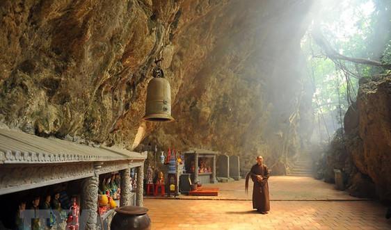 Chư tăng chùa Thiên Tôn gương mẫu thân thiện với môi trường