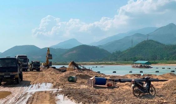 Quảng Nam: Tăng cường phòng ngừa, xử lý vi phạm trong khai thác khoáng sản