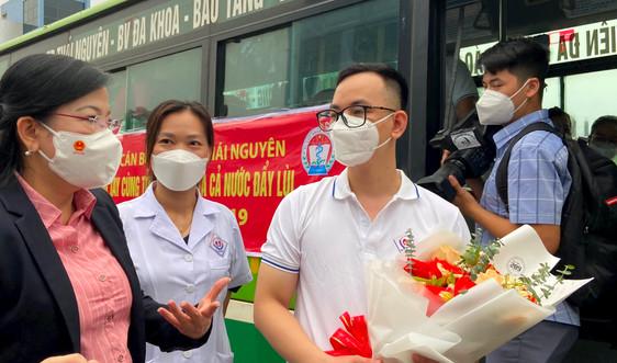 Thái Nguyên: Chi viện 190 cán bộ y tế hỗ trợ miền Nam chống dịch Covid-19
