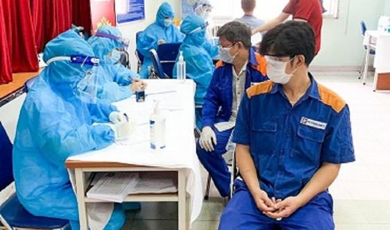 Petrolimex Sài Gòn triển khai tiêm mũi 2 vắc xin phòng Covid-19 cho CBCNV-NLĐ