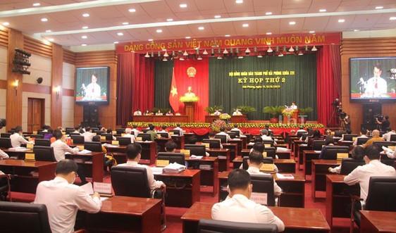 Kỳ họp thứ 2 HĐND TP Hải Phòng khóa XVI: Thông qua nhiều nghị quyết, điều động và bổ nhiệm nhân sự mới