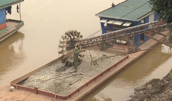 Trấn Yên (Yên Bái): Tăng cường quản lý hoạt động khai thác cát, sỏi