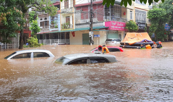 Nhiều tỉnh phía Bắc đối mặt mưa lớn, ngập lụt và sạt lở đất