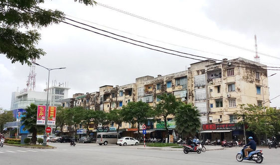 Cải tạo chung cư Đống Đa (TP. Huế): Đã chọn được nhà đầu tư