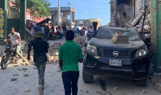Hơn 300 người thiệt mạng, hàng nghìn người bị thương do động đất ở Haiti