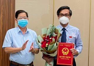 Ông Vũ Chí Hiếu giữ chức vụ Phó Giám đốc Sở Tài nguyên và Môi trường Khánh Hòa