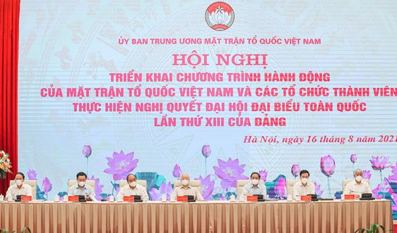 MTTQ Việt Nam triển khai chương trình hành động thực hiện Nghị quyết Đại hội XIII của Đảng