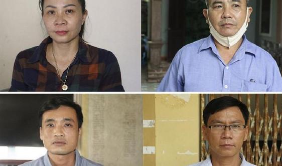 Nghệ An: Khởi tố 4 cán bộ xã lập khống hồ sơ rút tiền ngân sách