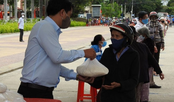 Vĩnh Phúc hỗ trợ công dân khó khăn vì dịch Covid-19 tại các địa phương đang giãn cách xã hội