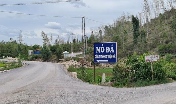 Bình Định: Cải tạo, nâng cấp toàn tuyến đường từ mỏ đá Công ty Thuận Đức đến quốc lộ 1A
