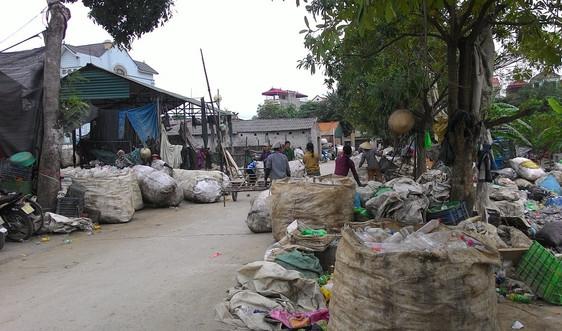 Hà Nội tập trung quyết sách kiểm soát môi trường làng nghề