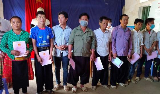 Sơn La: Hướng dẫn đăng ký biến động đất đai hộ đồng bào dân tộc thiểu số