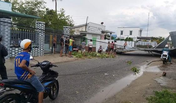 Ninh Thuận: Gần 200 héc ta lúa bị đổ ngã do lốc xoáy