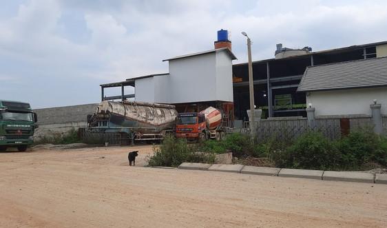 Ngang nhiên xây dựng nhà máy, Công ty CP Bê tông Lạng Sơn bị xử phạt 75 triệu đồng