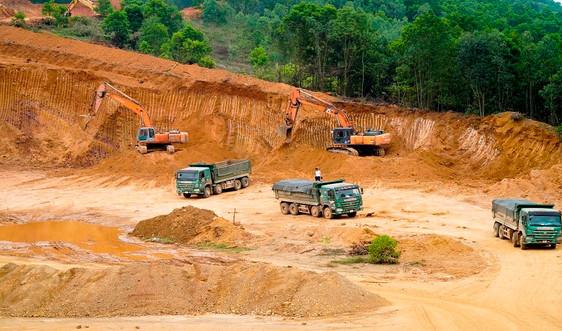 Thanh Hóa: Chưa chấp thuận 2 dự án khai thác mỏ đất tại Như Thanh và Thọ Xuân
