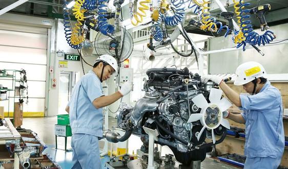 Chỉ số sản xuất công nghiệp tháng 8 giảm 4,2%