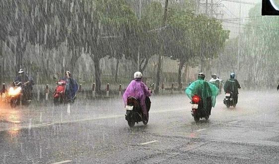 Thời tiết ngày 30/8, Tây Nguyên và Nam Bộ mưa to