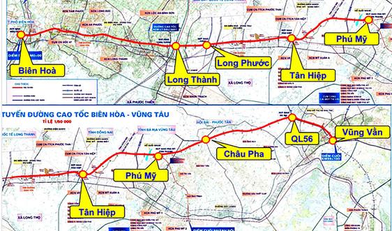 Rà soát nội dung Dự án cao tốc Biên Hòa-Vũng Tàu