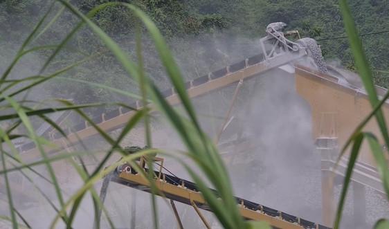 """Tiếp bài """"Ô nhiễm môi trường tại mỏ đá của Công ty Trung Kiên"""": Không thực hiện đúng báo cáo ĐTM?"""