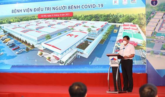 Sun Group ủng hộ 100 tỷ đồng xây dựng Bệnh viện dã chiến lớn nhất Hà Nội