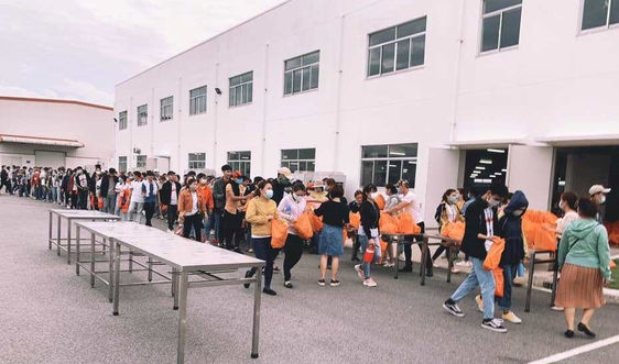 Quảng Ngãi phong tỏa một công ty có hơn 2.000 công nhân ở khu công nghiệp VSIP