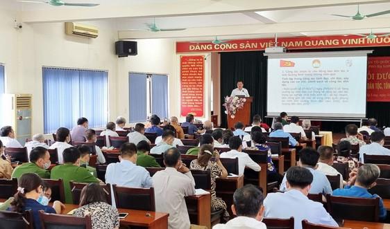 Tập huấn công tác dân tộc, tôn giáo tại TP. Hạ Long