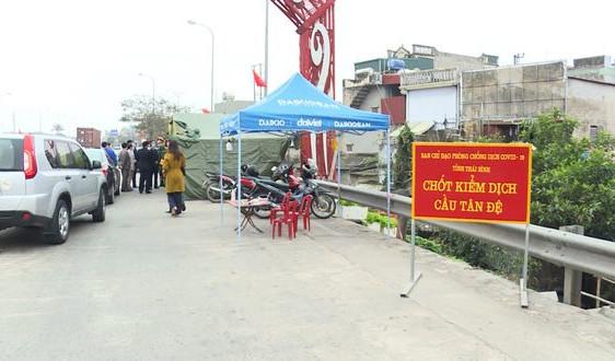 Thái Bình: Chỉ đạo khẩn sau khi Nam Định xuất hiện ổ dịch trong cộng đồng