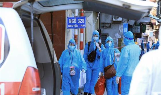 Số ca mắc mới giảm, Hà Nội tiếp tục di dời dân khỏi 'điểm nóng' Thanh Xuân Trung