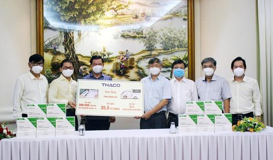 THACO tiếp tục tài trợ phòng, chống dịch Covid-19 ở các tỉnh miền Nam gần 130 tỷ đồng