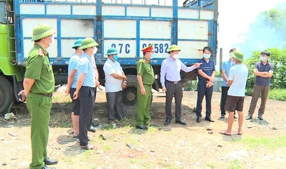 Phó Chủ tịch UBND tỉnh Vĩnh Phúc Nguyễn Văn Khước yêu cầu xử lý nghiêm các vi phạm về môi trường