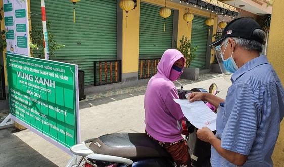 Đà Nẵng: Kiểm soát người ra đường theo vùng đỏ, vàng và xanh từ ngày 5/9