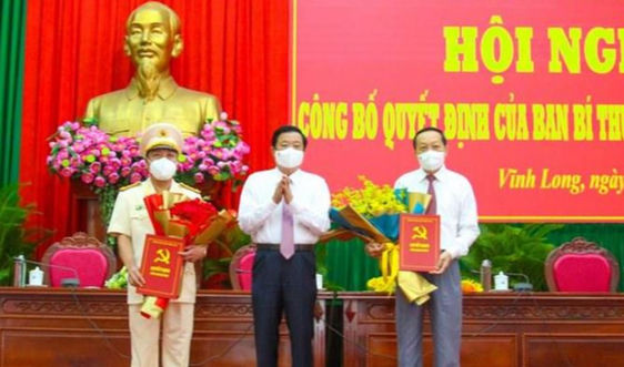 Ban Bí thư Trung ương Đảng chuẩn y nhân sự mới tại Vĩnh Long