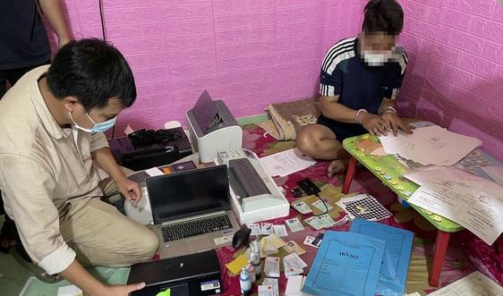 Quảng Nam: Triệt phá đường dây sản xuất, mua bán giấy tờ giả quy mô lớn