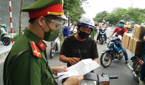 Công an Hà Nội thông báo thủ tục cấp giấy đi đường: Nhóm báo chí do Tổng biên tập duyệt, cấp