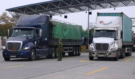 Giải quyết kịp thời các vấn đề liên quan đến vận tải, lưu thông hàng hóa