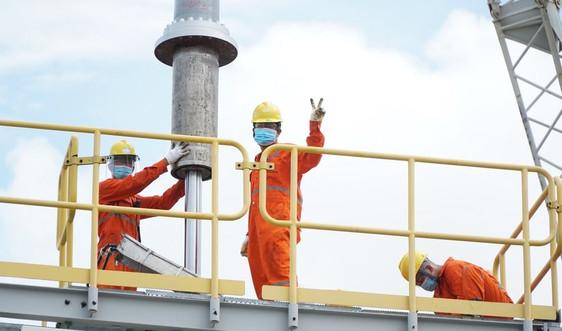Hoàn thành vượt tiến độ bảo dưỡng lớn Hệ thống khí Nam Côn Sơn 1