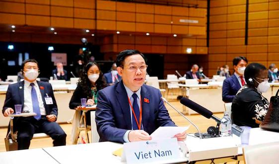 Chủ tịch Quốc hội Vương Đình Huệ: Chuyển đổi nền kinh tế để ứng phó với biến đổi khí hậu