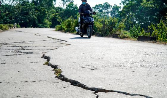 Thanh Hóa: Cần khắc phục nhiều tuyến đê bị nứt trước mùa mưa bão