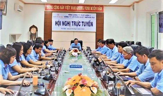 Công ty CP Nhiệt điện Bà Rịa quản lý hệ thống văn phòng trên nền tảng số